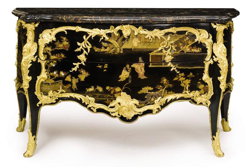 Let s go rococo a decorative affair - Grande commode baroque ...