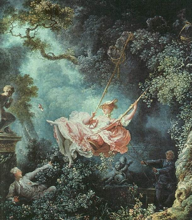 a painting analysis of fragonards swing Jean-honore fragonard (1732-1806): biography of french rococo artist, best-known for the swing  french painting by one of the.