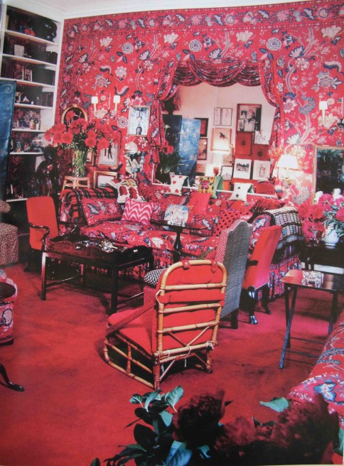 BB diane vreeland apartment garden in hell