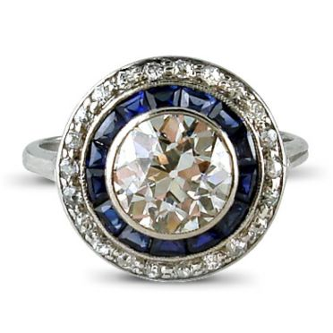 saphire target ring