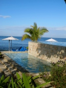 tiered infinity pool