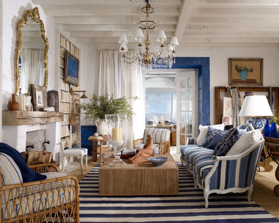 Ralph Lauren interior design | adecorativeaffair