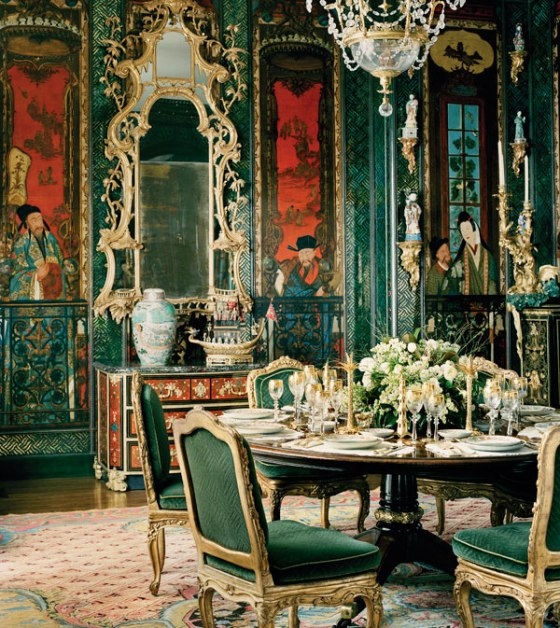 chinoiserie Anne Getty