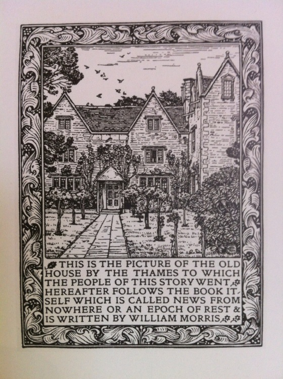 William Morris frontispiece