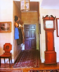 gentle english style, the grand father clock is part of many child's memories