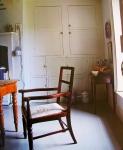 Pentreath's parsonage kitchen using cupboards form pre 1900.