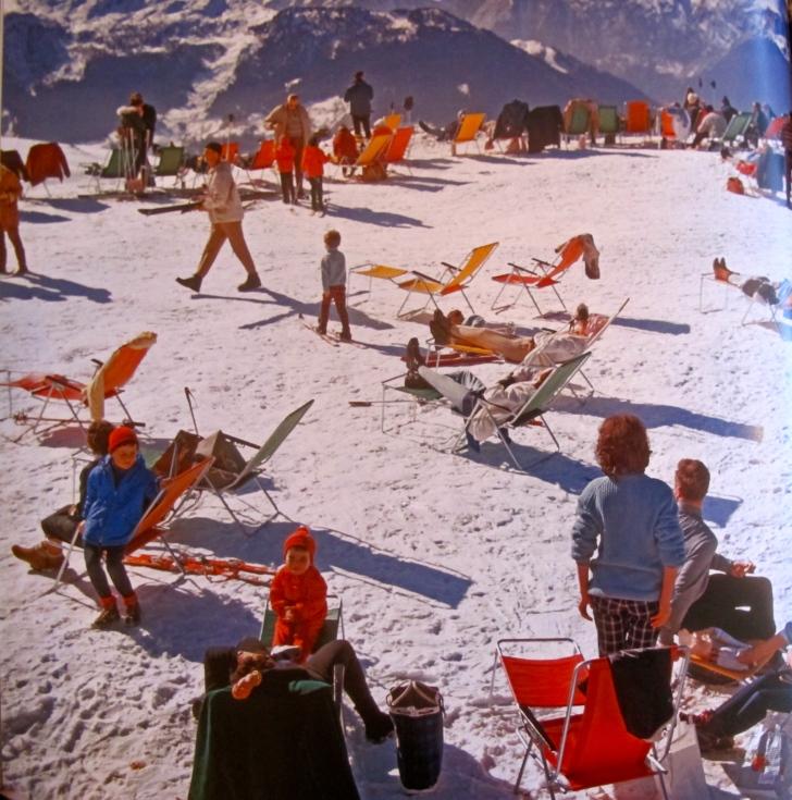 slim aarons skiing