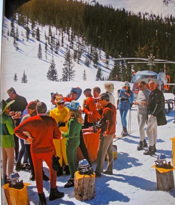 Slim Aarons ski chic