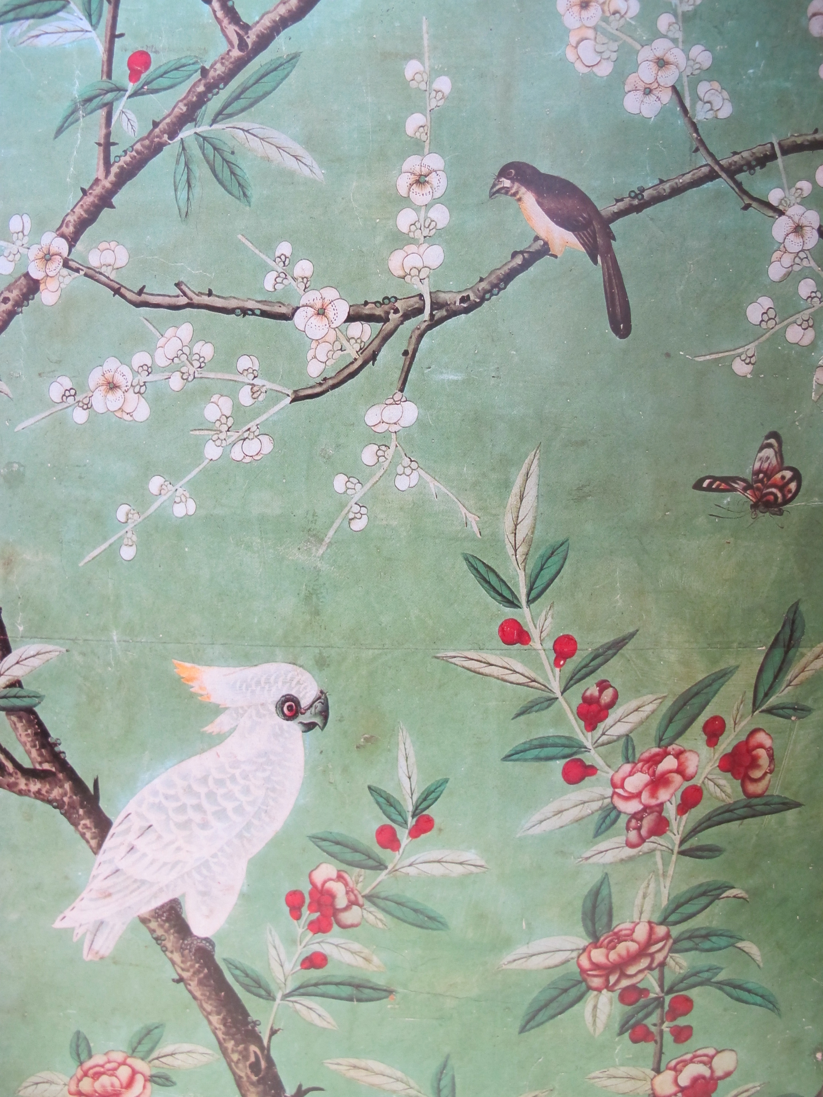 Chinoiserie forever adecorativeaffair for Oriental style wallpaper uk