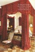 Bilhuber's baroque inspired bedroom in Long Island