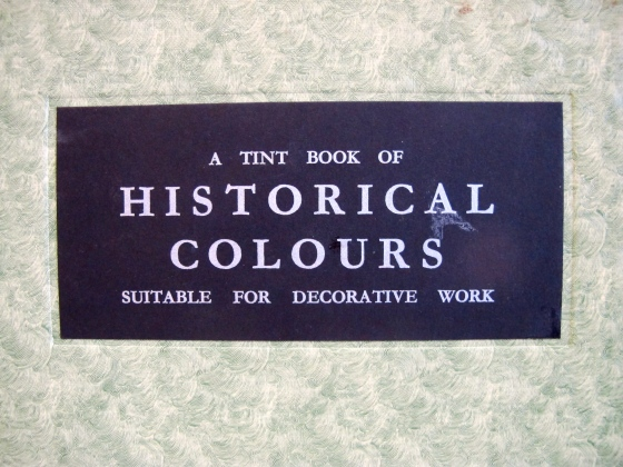 historical colours for decorators
