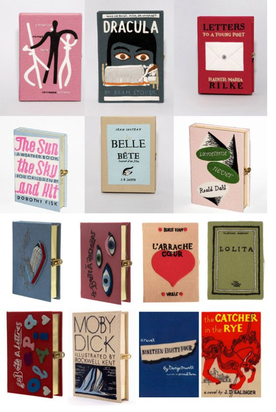 3 pb blog's collage of olympia's books