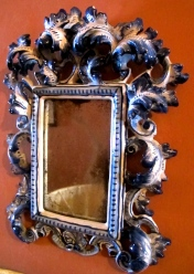 baroque style china mirrors