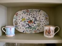 kitchen displays of china