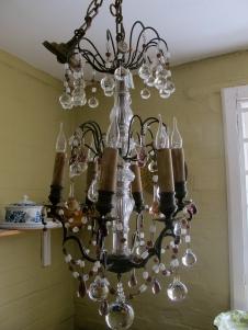 did I mention chandeliers?