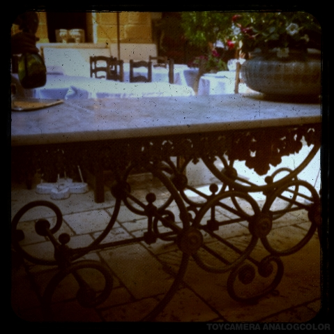 colombe butchers table _effected