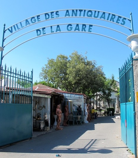 Isle sur la Sorgue Village des Antiquaires