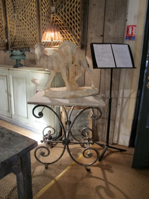 butcher's tables french 19th century