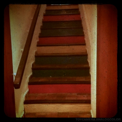 stairs mutlicolori_effected
