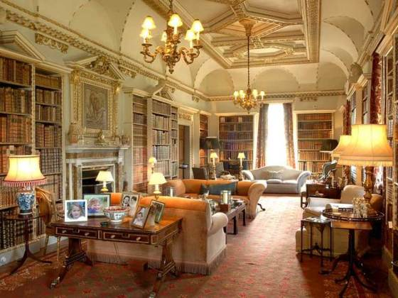 Holkham Hall Library