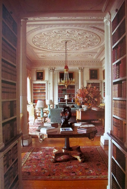 Sitting Library Woburn Abbey
