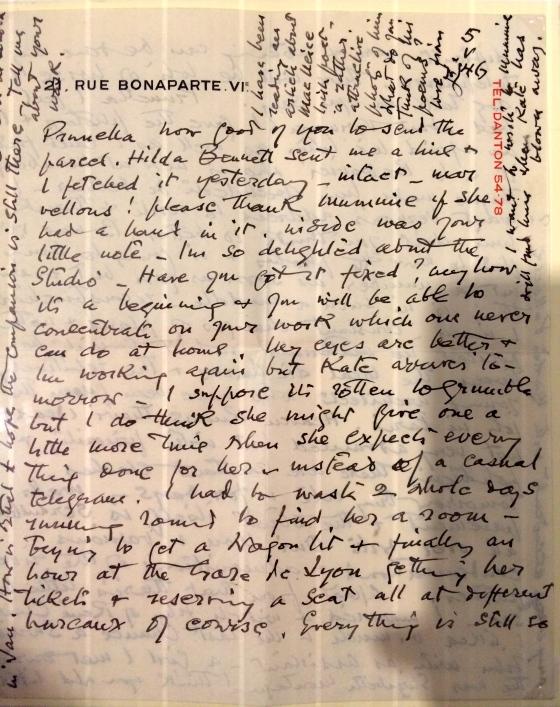 Eileen Gray notepaper