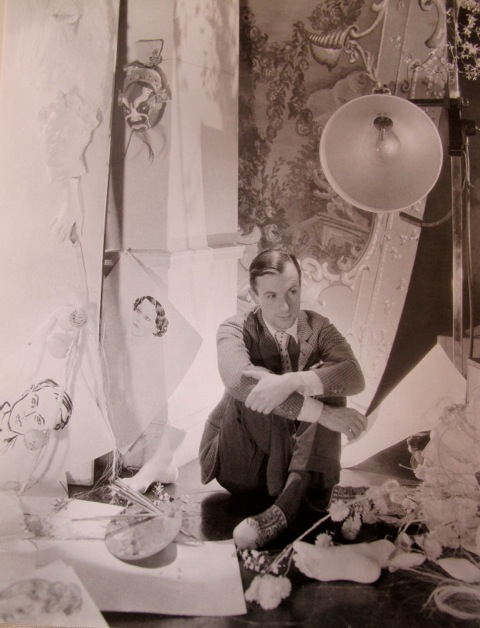 Cecil Beaton self portrait 1920's