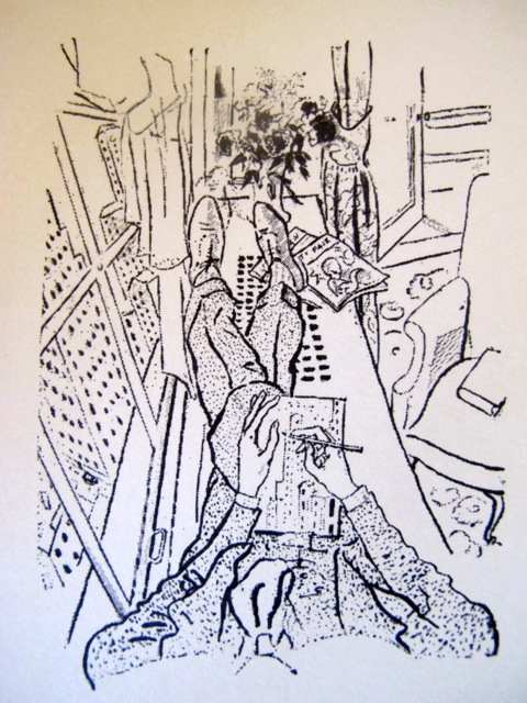 cecil beaton sketch New York