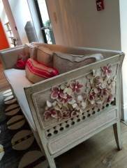 and FABULOUS embroidered sofa