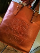 luxe leather totes for your wares