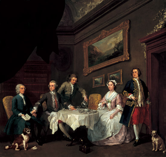 Hogarth_the_strode_family