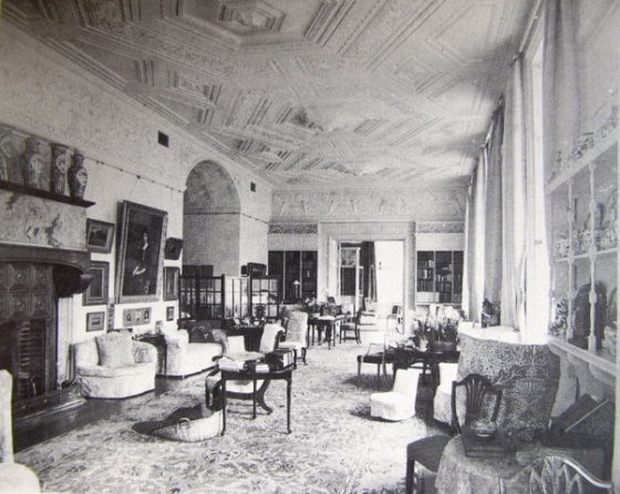 Clouds drawing room