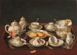 ts Jean-Etienne Liotard (Swiss artist, 1702-1789) Still Life Tea Set, 1781-83