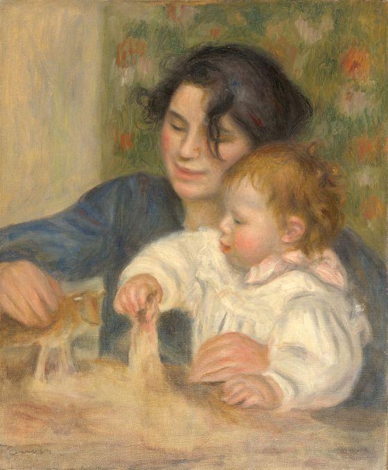 Gabrielle et Jean by PierreAugusteRenoir