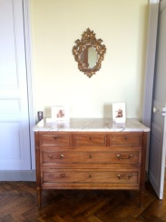 clean neo-classical commode