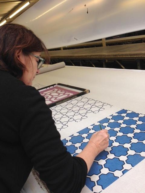 Christine Van Der Hurd designing