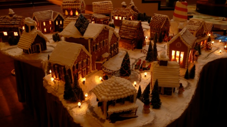 spaggola christmas village