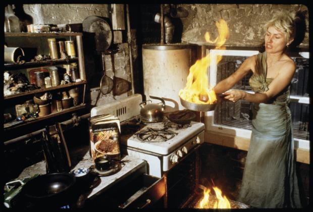 Chris Stein and the burnt  kitchen Blondie