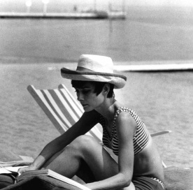 Audrey at the Lido Venice