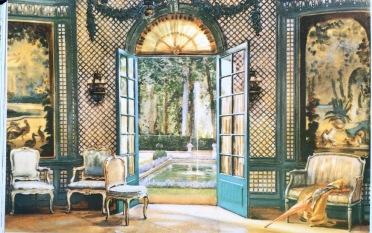 garden trellis room