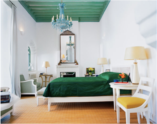 Yves Saint Laurent Morocco bedroom adecorativeaffair