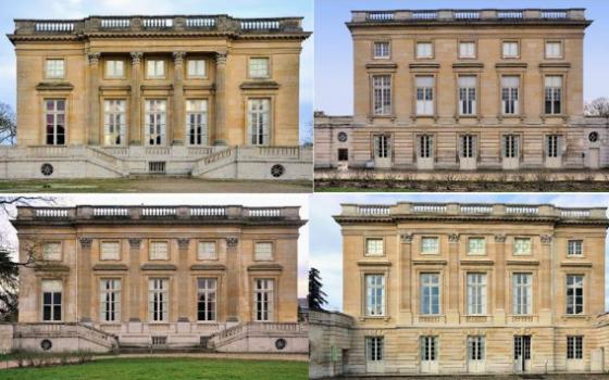 Trianon facades