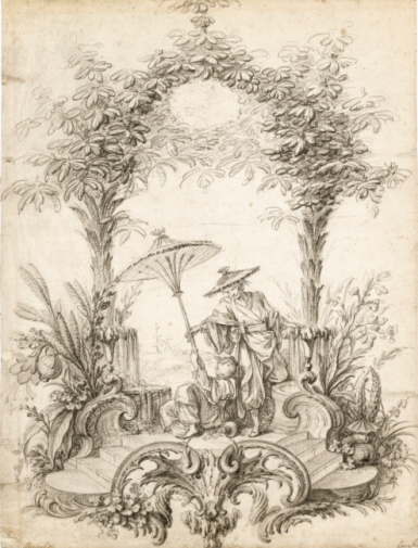 Boucher Chinoiserie composition
