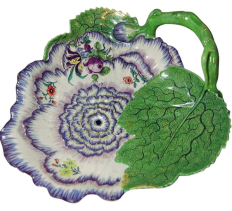 Surreal 18th century cabbage ware
